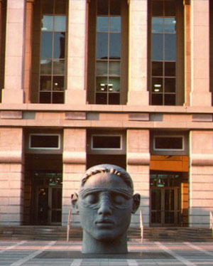 Head of Justice, 1991 - Diana K. Moore, Martin Luther King Jr. Federal Courthouse, Newark, NJ