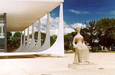 Justice - Alfredo Ceschiatti Federal Supreme Court, Brasilia