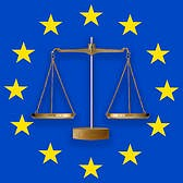 Scales of justice EU symbol